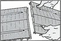 Монтаж коньковой вентиляции